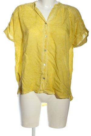 Saint Tropez Blouse-chemisier jaune primevère style décontracté