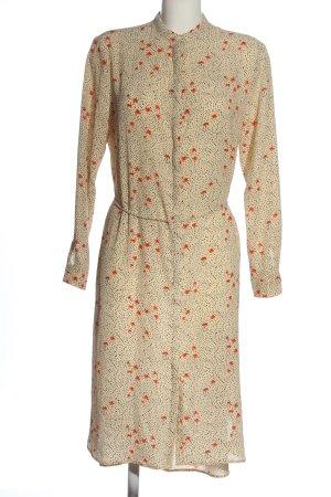Saint Tropez Shirtwaist dress allover print casual look