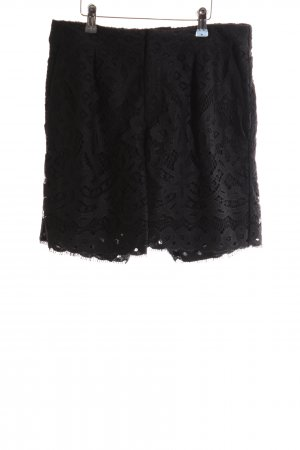 Saint Tropez High-Waist-Shorts schwarz Casual-Look