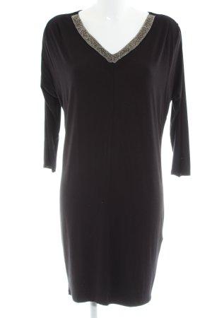 Saint Tropez Jerseykleid schwarz Elegant