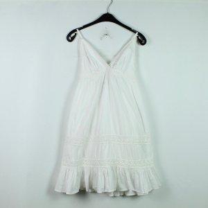 SAINT TROPEZ Kleid Gr. L weiß Boho Style (20/03/088*)