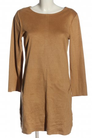Saint Tropez Vestido de manga larga marrón look casual