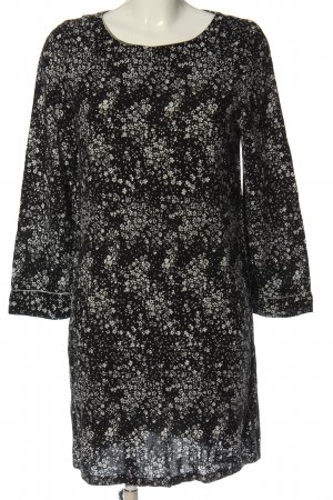 Saint Tropez Longsleeve Dress black-white allover print casual look
