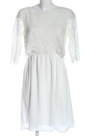 Saint Tropez Midikleid weiß Elegant