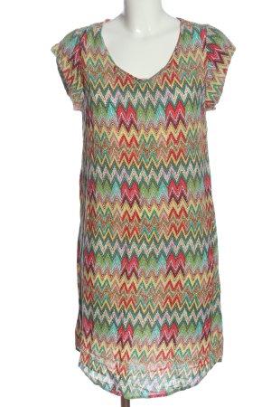 Saint Tropez Midi Dress abstract pattern casual look