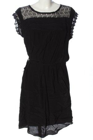 Saint Tropez Robe mi-longue noir style décontracté