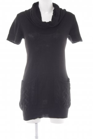 Saint Tropez Pulloverkleid schwarz Casual-Look