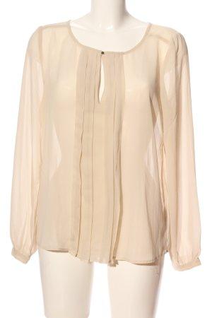 Saint Tropez Schlupf-Bluse creme Elegant