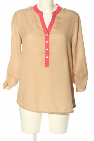 Saint Tropez Schlupf-Bluse nude-pink Business-Look