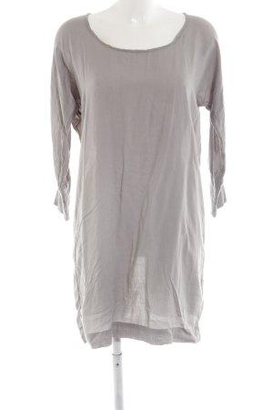 Saint Tropez Shirtkleid hellgrau Casual-Look