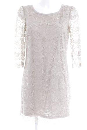 Saint Tropez Vestido de encaje beige elegante
