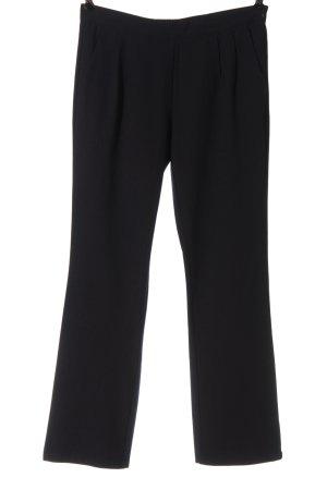 Saint Tropez Pantalon en jersey noir style décontracté