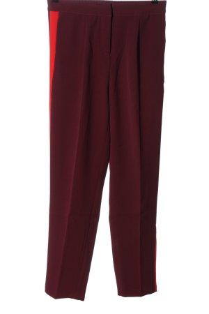 Saint Tropez Pantalon en jersey rouge style décontracté