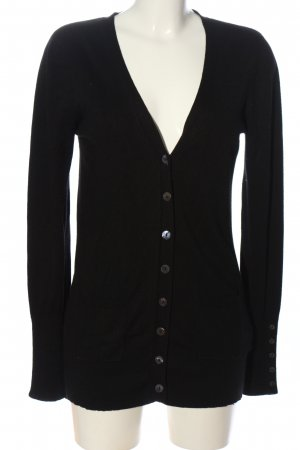 Saint Tropez Strick Cardigan schwarz Casual-Look