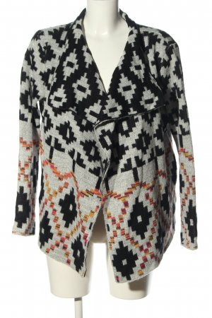 Saint Tropez Strick Cardigan grafisches Muster Casual-Look