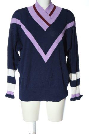 Saint Tropez Pull tricoté motif rayé style décontracté