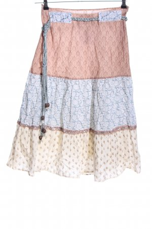 Saint Tropez Circle Skirt allover print casual look