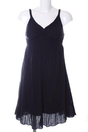 Saint Tropez Robe à bretelles noir style décontracté