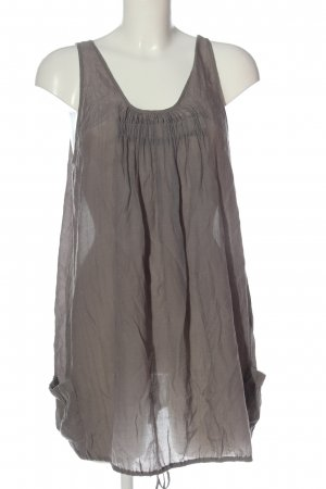Saint Tropez Tunic Blouse brown striped pattern casual look