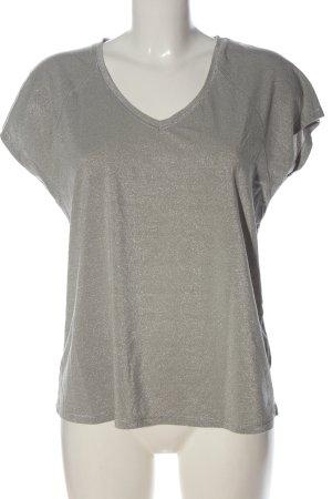 Saint Tropez Camisa con cuello V gris claro look casual