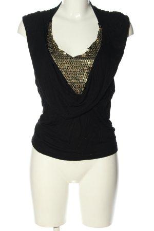 saix Koszulka z kapturem czarny Ekstrawagancki styl