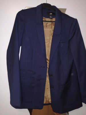 H&M Blazer unisex azul oscuro