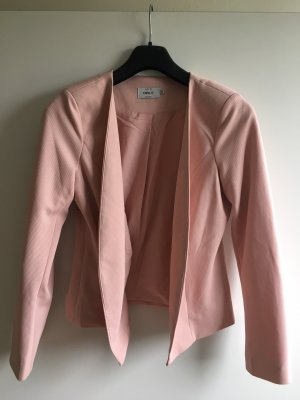 Only Knitted Blazer rose-gold-coloured