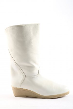 Salamander Fur Boots white casual look