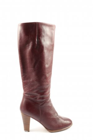 Salamander High Heel Stiefel rot Casual-Look