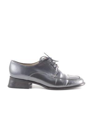 Salamander Zapatos estilo Richelieu gris claro estilo extravagante