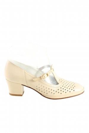 Salamander T-Steg-Pumps creme Casual-Look
