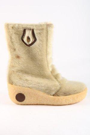 Salamander Winter Boots cream casual look