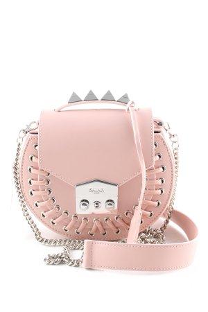 Salar Milano Minitasche pink-silberfarben Casual-Look