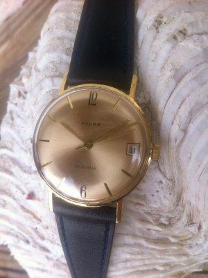 Orologio automatico oro-blu scuro
