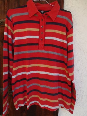 """""""Bogner""""-weiches Jersey-Polo-Langarm, 42-44"""