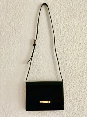 BCBG Maxazria Shoulder Bag black-beige leather