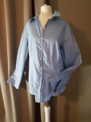 Brax Koszulowa bluzka niebieski-jasnoniebieski