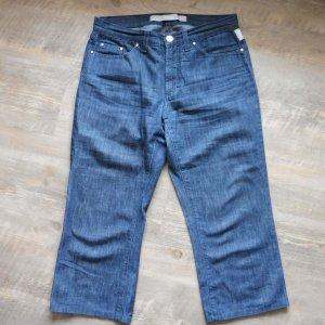 Versace Jeans Couture Jeans 3/4 bleu foncé-argenté coton