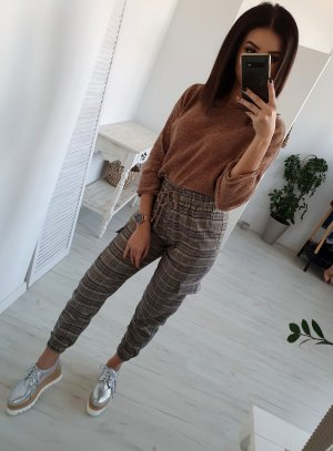Pantalone cargo bronzo