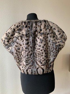 Steffen Schraut Fur vest multicolored
