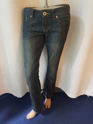Sale! Guess Jeans Pismo straight Gr 28 Blau sehr gut erhalten!