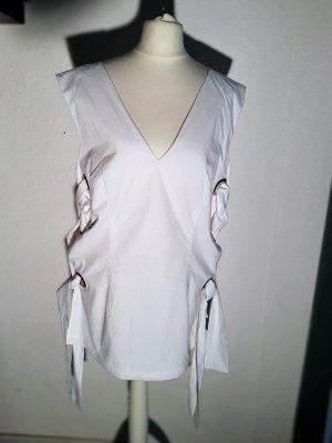 Sale!H&M Schürtzen - kleid Tunika Retro L 44  Neu mit Etikett Weiß