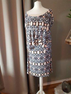 Manguun Off-The-Shoulder Dress multicolored