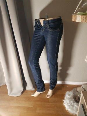 Sale!Mavi Lindy Jeans indigo Röhre, stretch Neu! 26 / 34