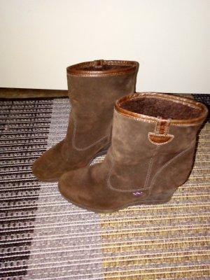 ♥Sale Maxx Lederstiefeletten Boots Leder 39♥ letzte Reduzierung ⏰
