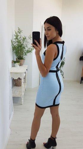 Bandeau Dress black-light blue