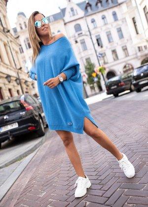 Bastet Oversized trui blauw