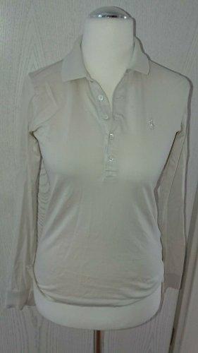 %Sale%Ralph Lauren, Bluse Shirt, Gr. XS, Luxus, Beige, Elegant 100% Baumwolle