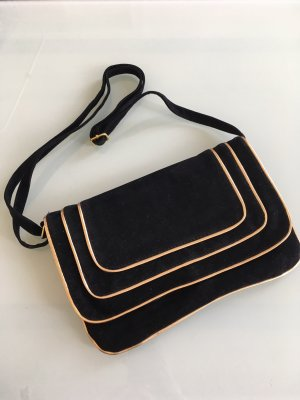 Blanco Clutch black-gold-colored