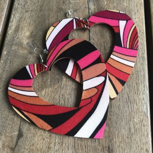 Heine Statement Earrings multicolored